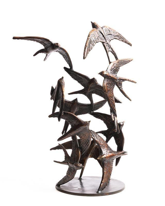 Colm J. Brennan, Birds in Flight at Morgan O'Driscoll Art Auctions