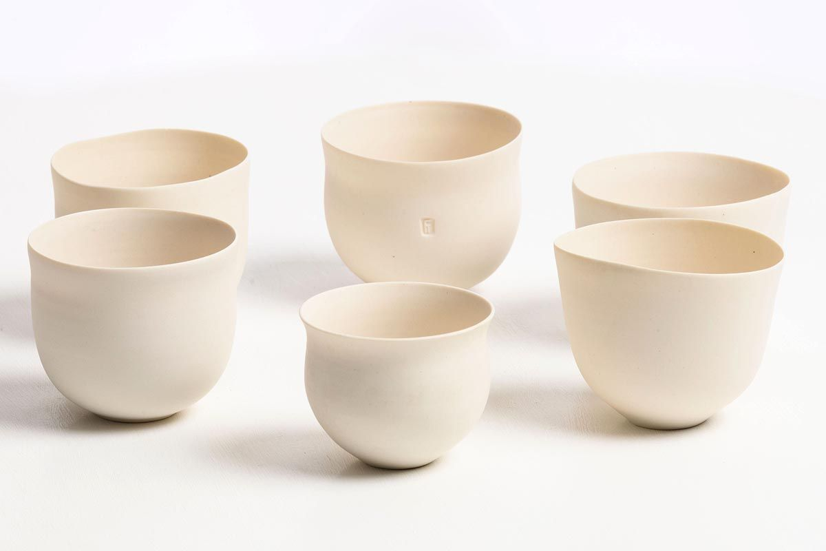 Sara Flynn, White Bowls at Morgan O'Driscoll Art Auctions