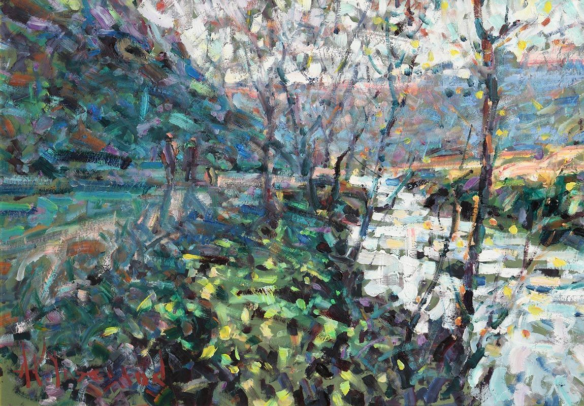 Arthur K. Maderson, September Evening, Glen Shelane near Cappoquin at Morgan O'Driscoll Art Auctions