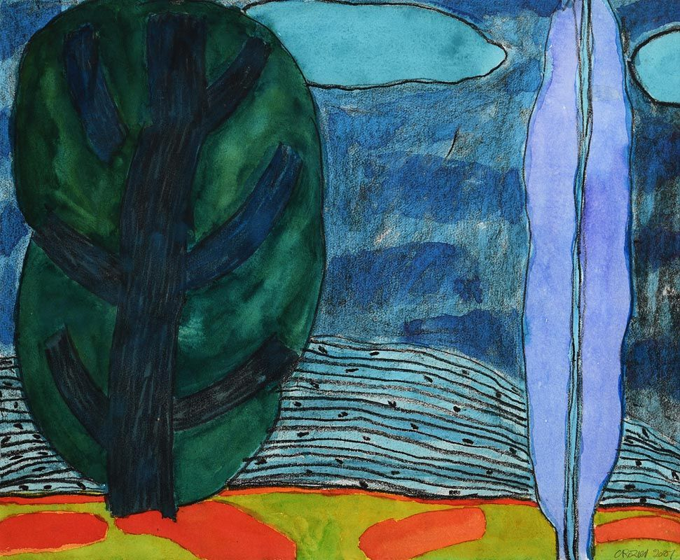 William Crozier, Landscape (2007) at Morgan O'Driscoll Art Auctions