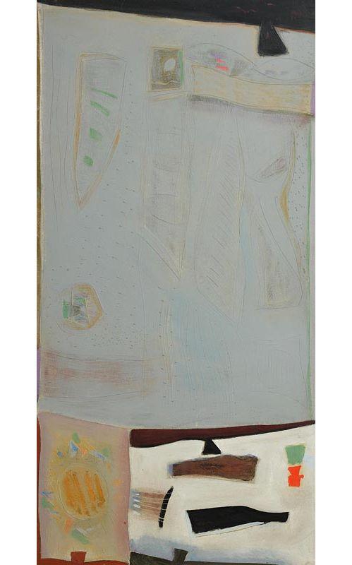 Tony O'Malley, Callan Painting (1980) at Morgan O'Driscoll Art Auctions