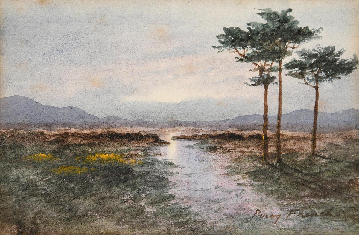 William Percy French, Evening Light, Connemara at Morgan O'Driscoll Art Auctions