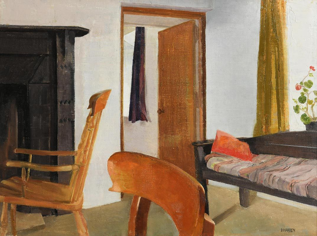 Barbara Warren, Interior Aughris Beg (1990) at Morgan O'Driscoll Art Auctions