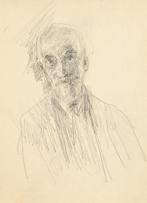John Butler Yeats, Self Portrait at Morgan O'Driscoll Art Auctions