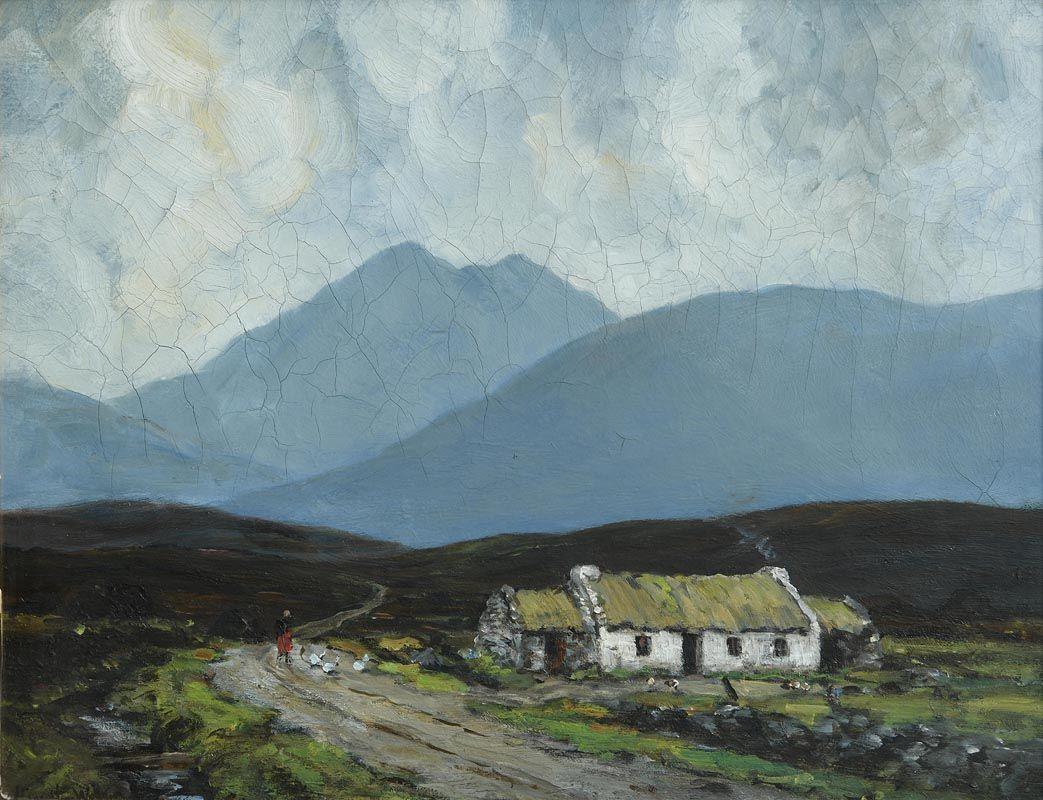John Crampton Walker (1890-1942), A Kerry Cottage (1939) at Morgan O'Driscoll Art Auctions