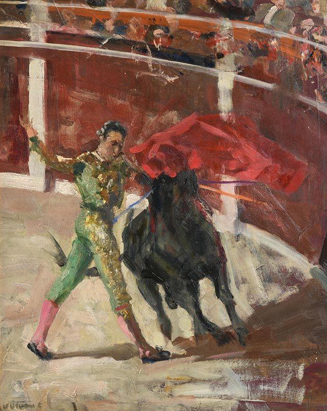 James LeJeune, The Matador at Morgan O'Driscoll Art Auctions