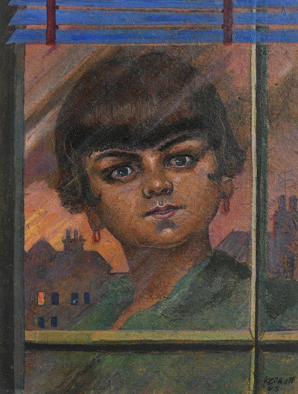 Harry Aaron Kernoff, Dawn Morning (1963) at Morgan O'Driscoll Art Auctions