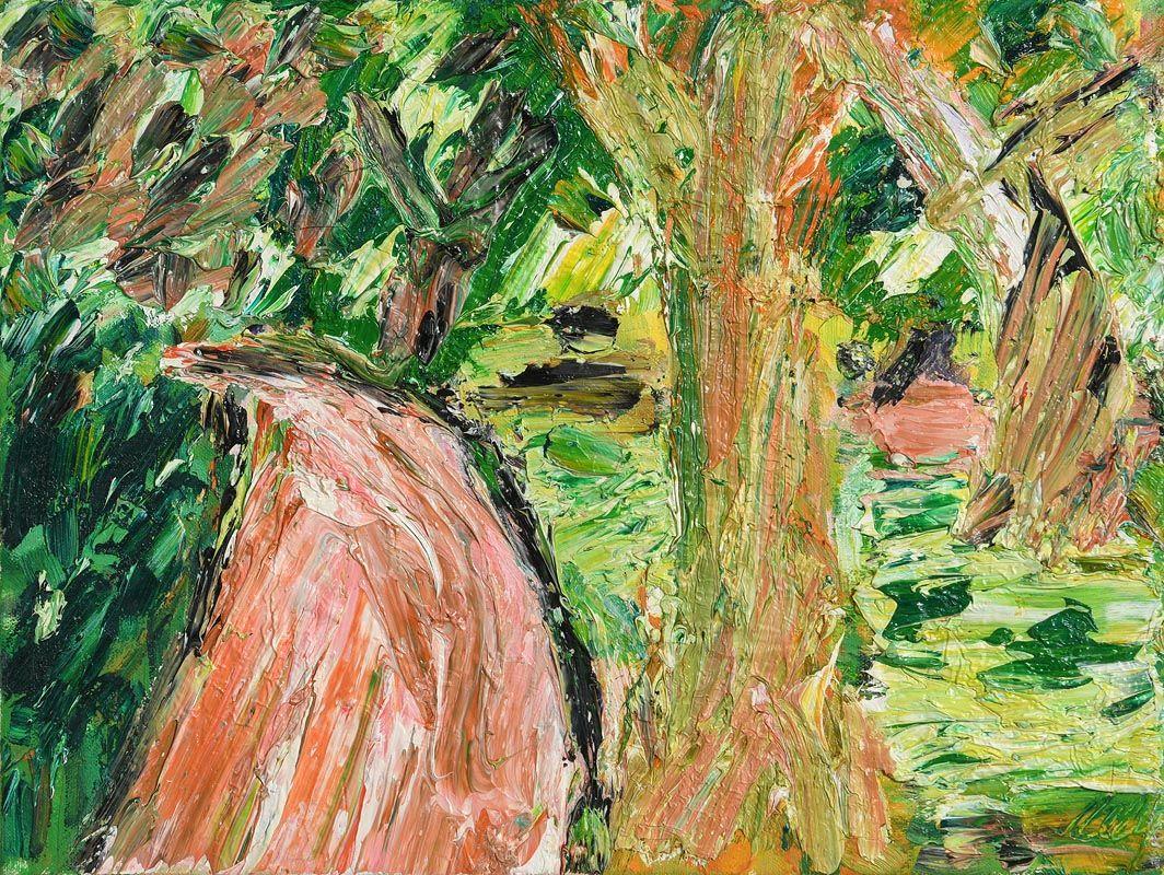 Philip Kelly, Pink Path (2004) at Morgan O'Driscoll Art Auctions