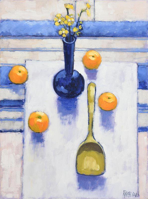 Richard J. Croft, Still Life on Tabletop at Morgan O'Driscoll Art Auctions
