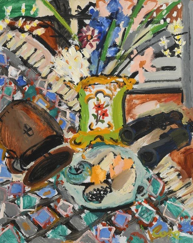 Elizabeth Cope, Still Life at Morgan O'Driscoll Art Auctions