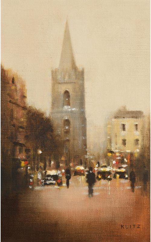 Anthony Robert Klitz, St. Patricks (1981) at Morgan O'Driscoll Art Auctions