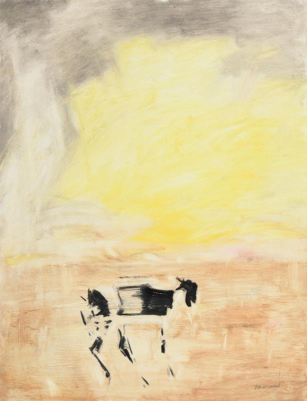 Basil Blackshaw, Goat at Morgan O'Driscoll Art Auctions