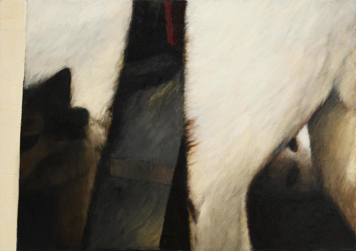 John Shinnors, Three Cats at Morgan O'Driscoll Art Auctions