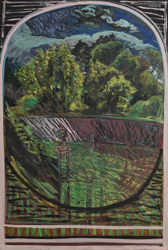 Brian Bourke, Head in Landscape No.1 (1970) at Morgan O'Driscoll Art Auctions