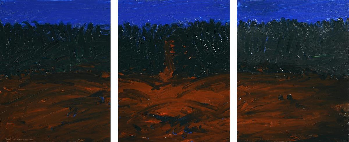 Sean McSweeney, Valentine's Hill 1,2,3 (1984) at Morgan O'Driscoll Art Auctions