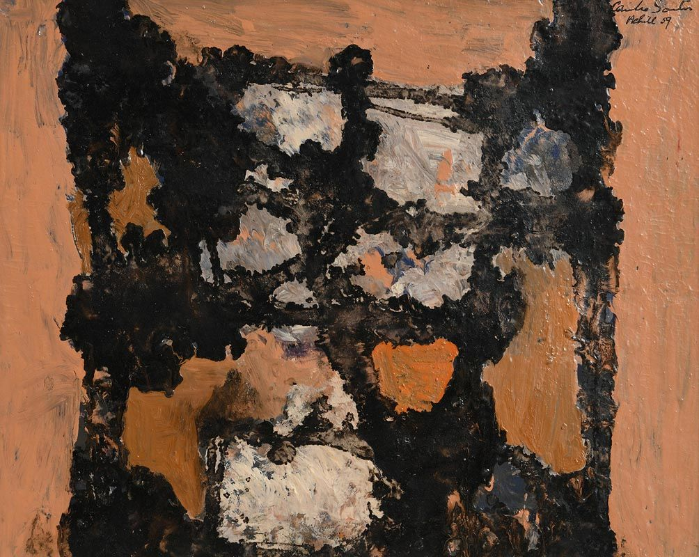 Camille Souter, Abstract - Achill (1959) at Morgan O'Driscoll Art Auctions