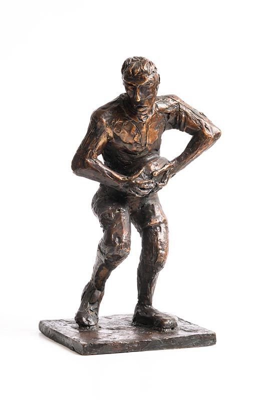 John Behan, Rugby Player at Morgan O'Driscoll Art Auctions