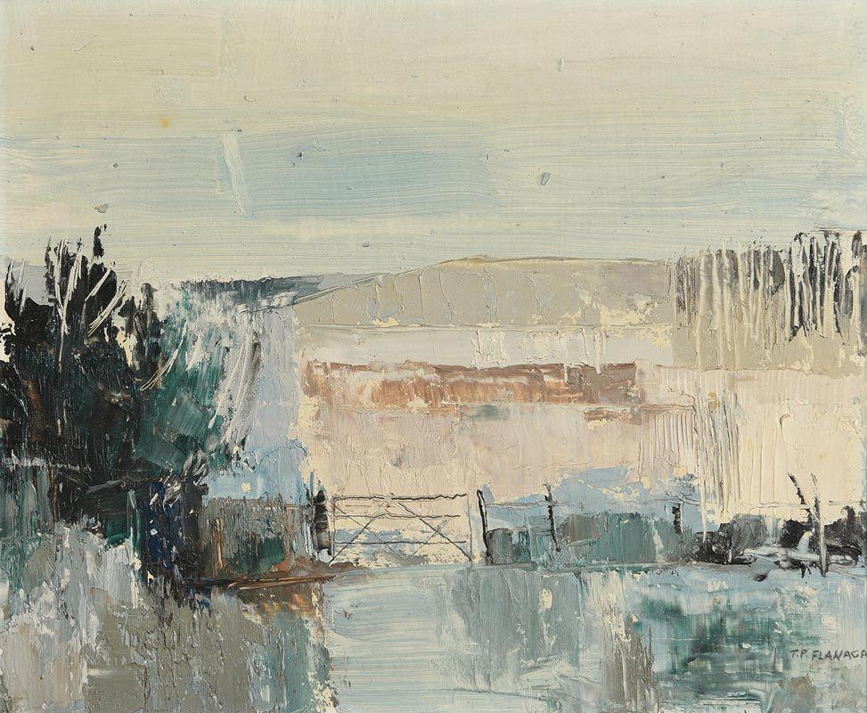 Terence P. Flanagan, April Meadows (1965) at Morgan O'Driscoll Art Auctions