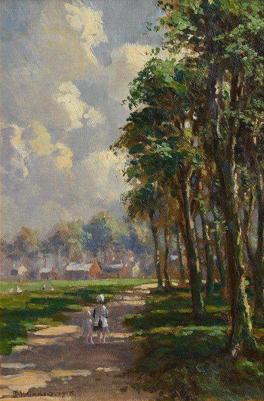 James Humbert Craig, Sunshine and Shadow (1915) at Morgan O'Driscoll Art Auctions