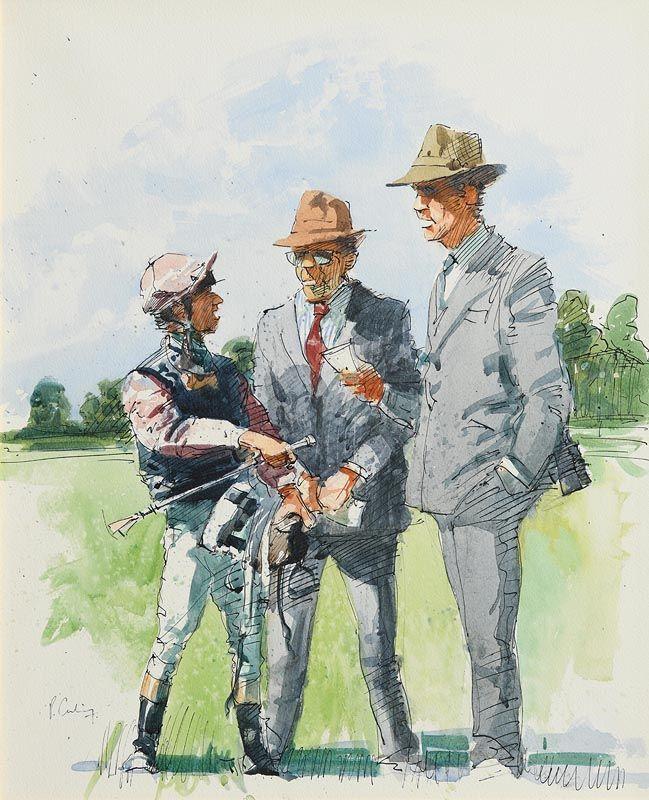 Peter Curling, Receiving Instructions at Morgan O'Driscoll Art Auctions