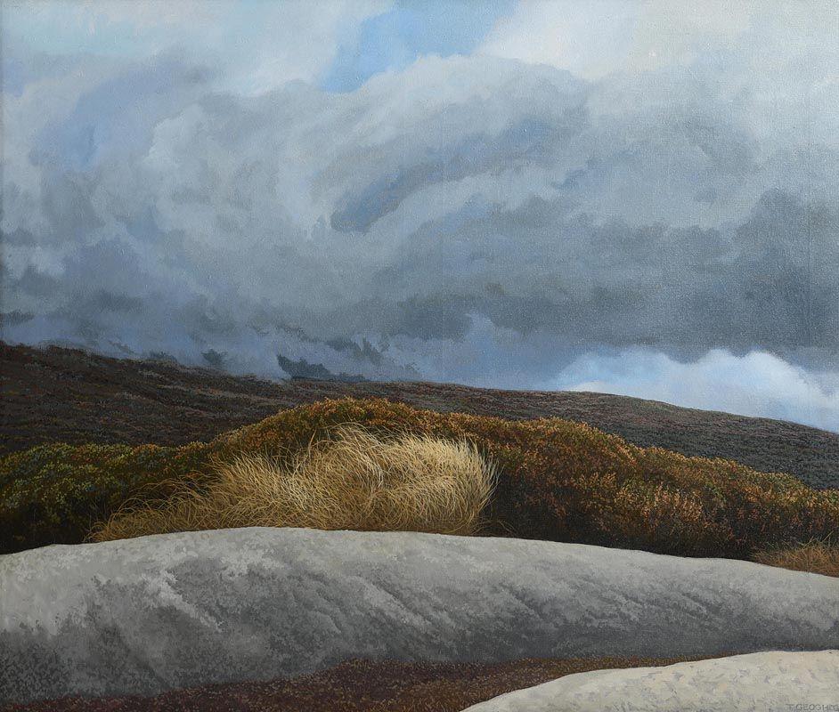 Trevor Geoghegan, Wicklow Landscape at Morgan O'Driscoll Art Auctions