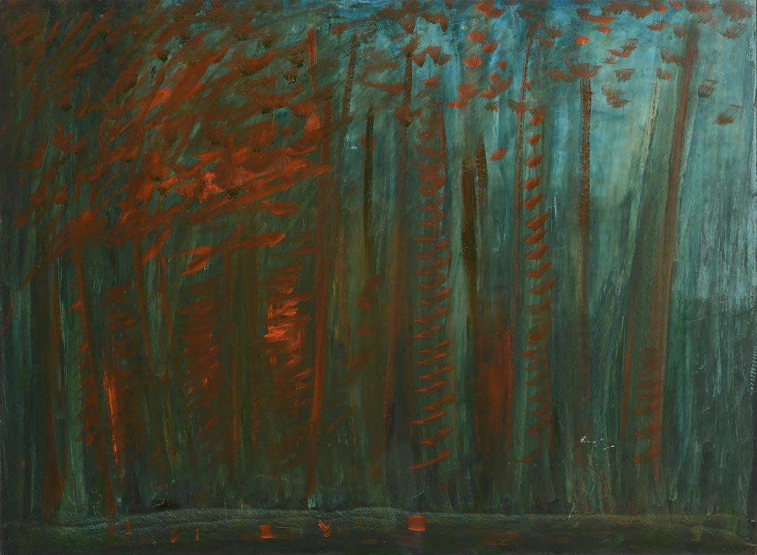 Sean McSweeney, Trees, Lissadell (1998) at Morgan O'Driscoll Art Auctions