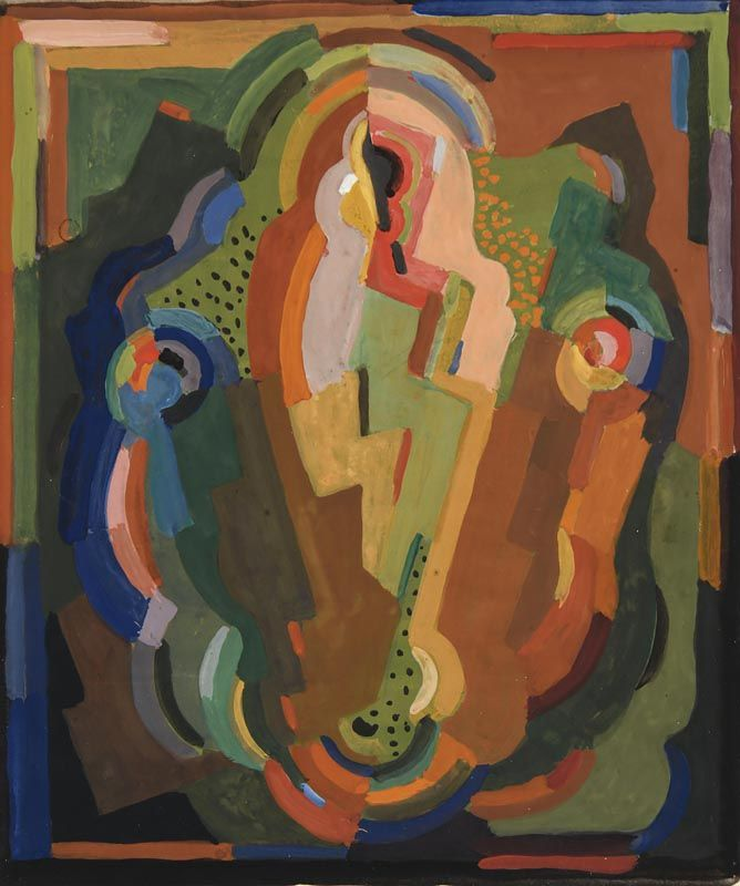 Mainie Jellett, Abstract Composition at Morgan O'Driscoll Art Auctions