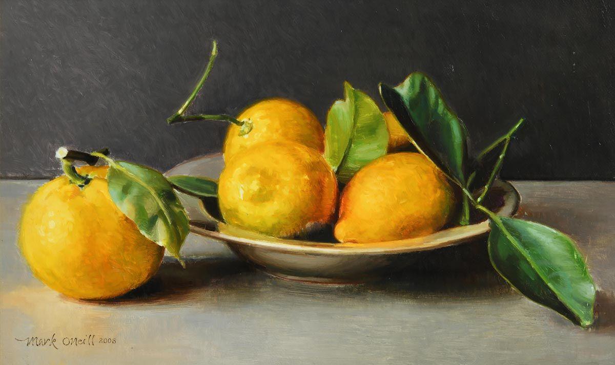 Mark O'Neill, Five Lemons (2008) at Morgan O'Driscoll Art Auctions