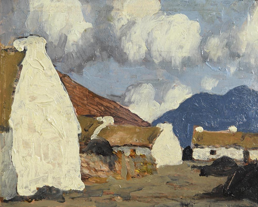 Paul Henry, A Western Village (1928) at Morgan O'Driscoll Art Auctions