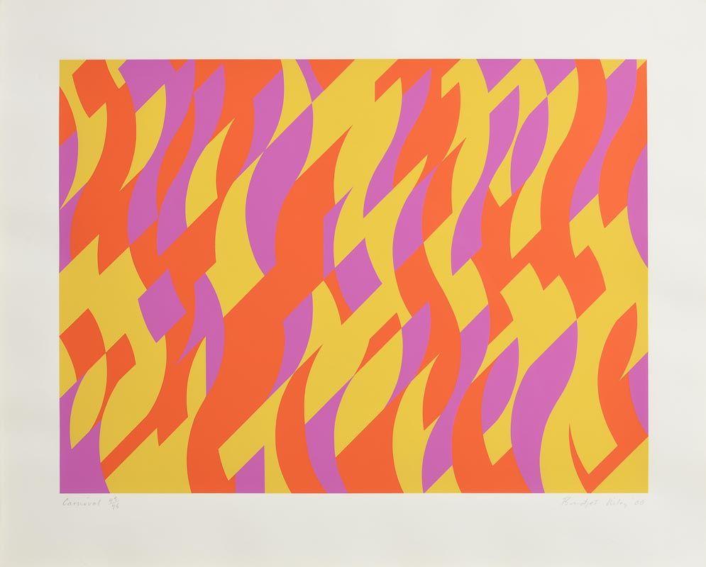 Bridget Riley, Carnival (2000) at Morgan O'Driscoll Art Auctions