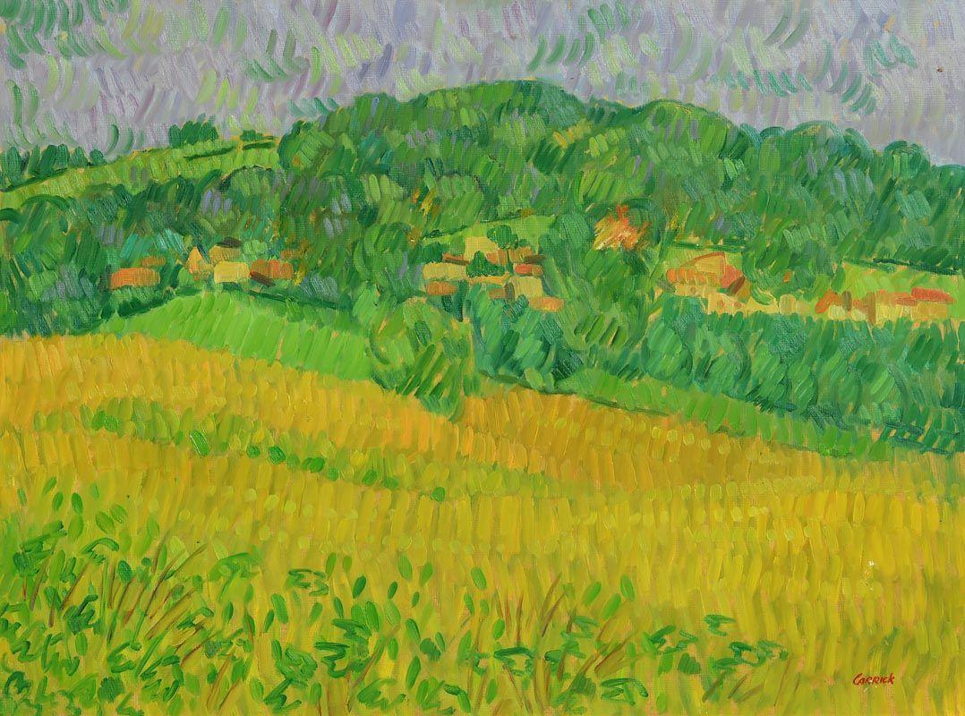 Desmond Carrick, Tuscan Landscape at Morgan O'Driscoll Art Auctions