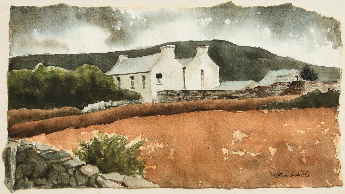 Martin Gale, Landscape, Cork (1995) at Morgan O'Driscoll Art Auctions