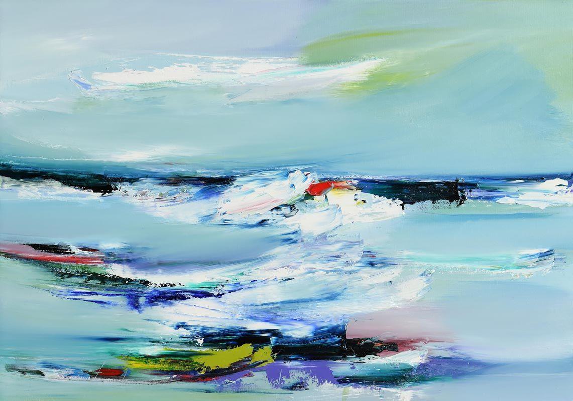 Majella O'Neill Collins, When Two Tides Meet (2020) at Morgan O'Driscoll Art Auctions