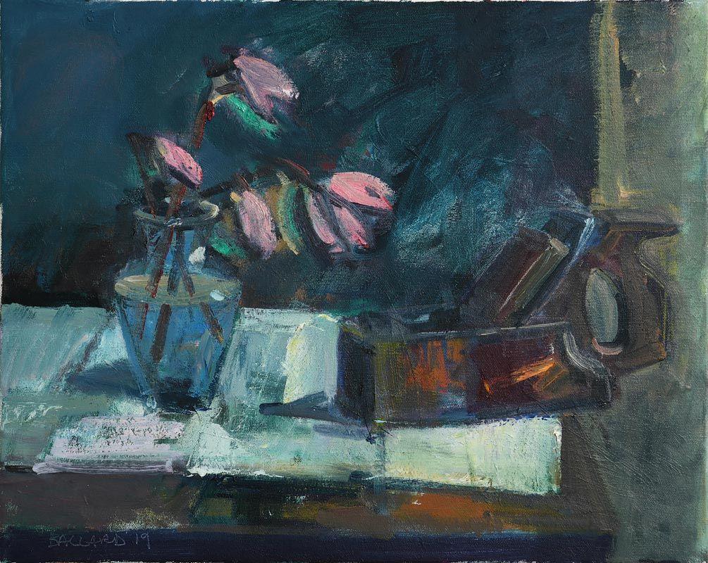 Brian Ballard, Woodplain and Magnolias (2019) at Morgan O'Driscoll Art Auctions