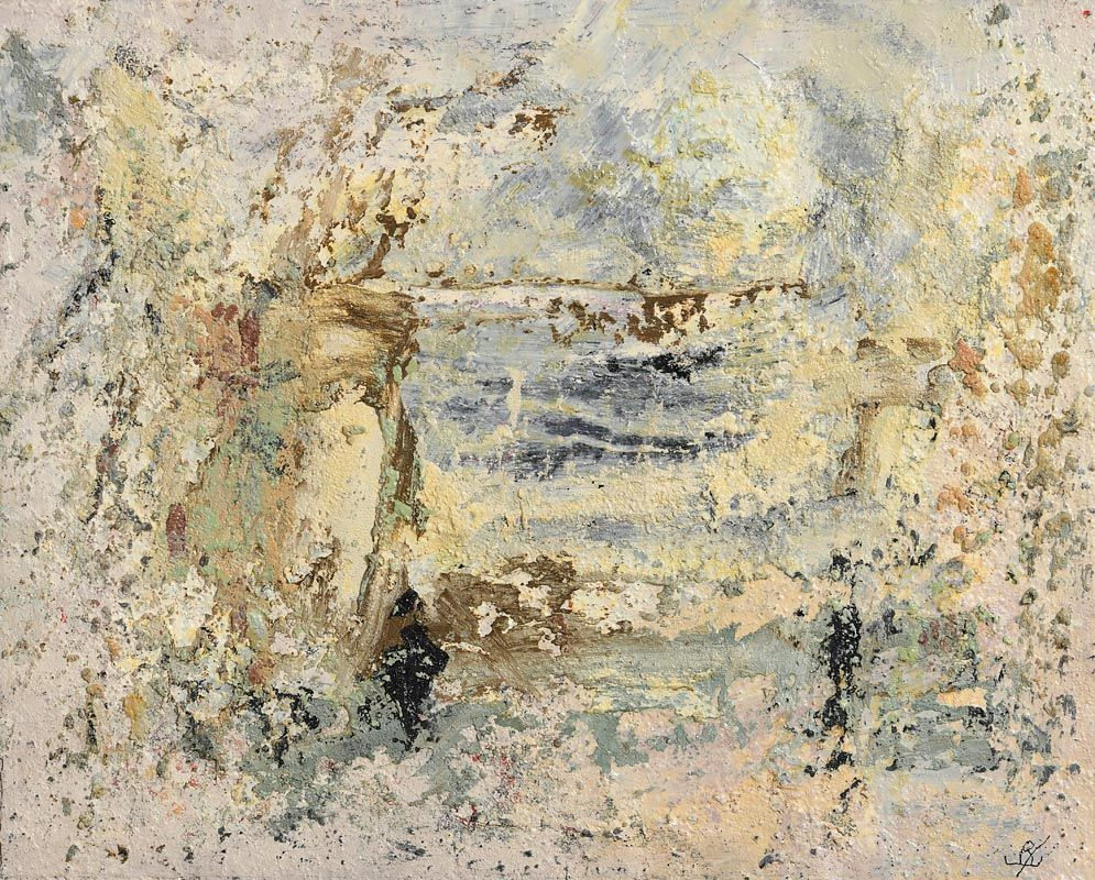 John Kingerlee, The Saint in the Landscape (2020) at Morgan O'Driscoll Art Auctions