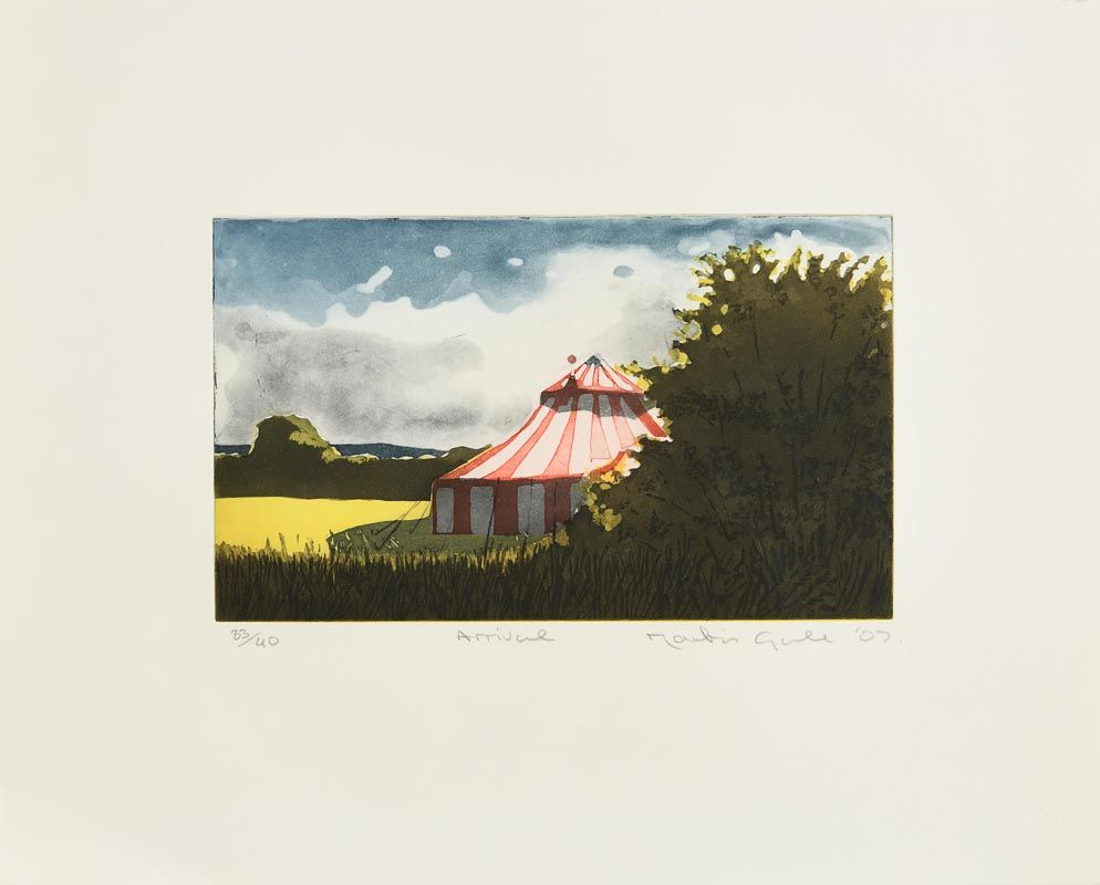 Martin Gale, Arrival at Morgan O'Driscoll Art Auctions