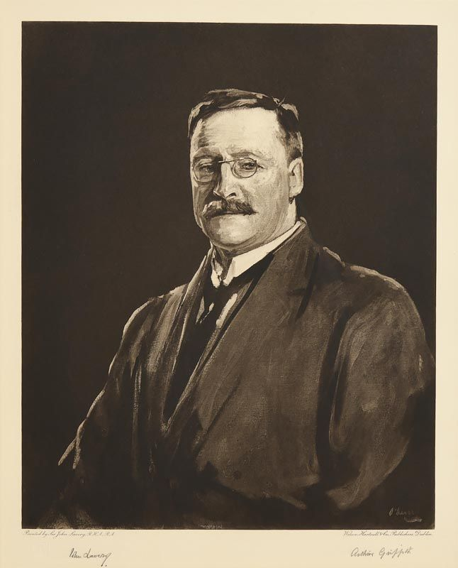 Sir John Lavery, Arthur Griffith at Morgan O'Driscoll Art Auctions