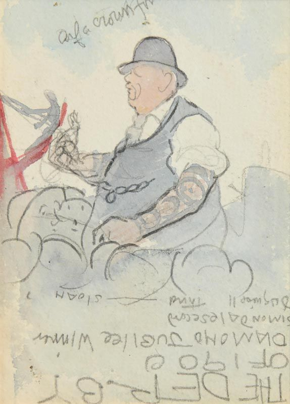 Jack Butler Yeats, The Derby of 1900 at Morgan O'Driscoll Art Auctions