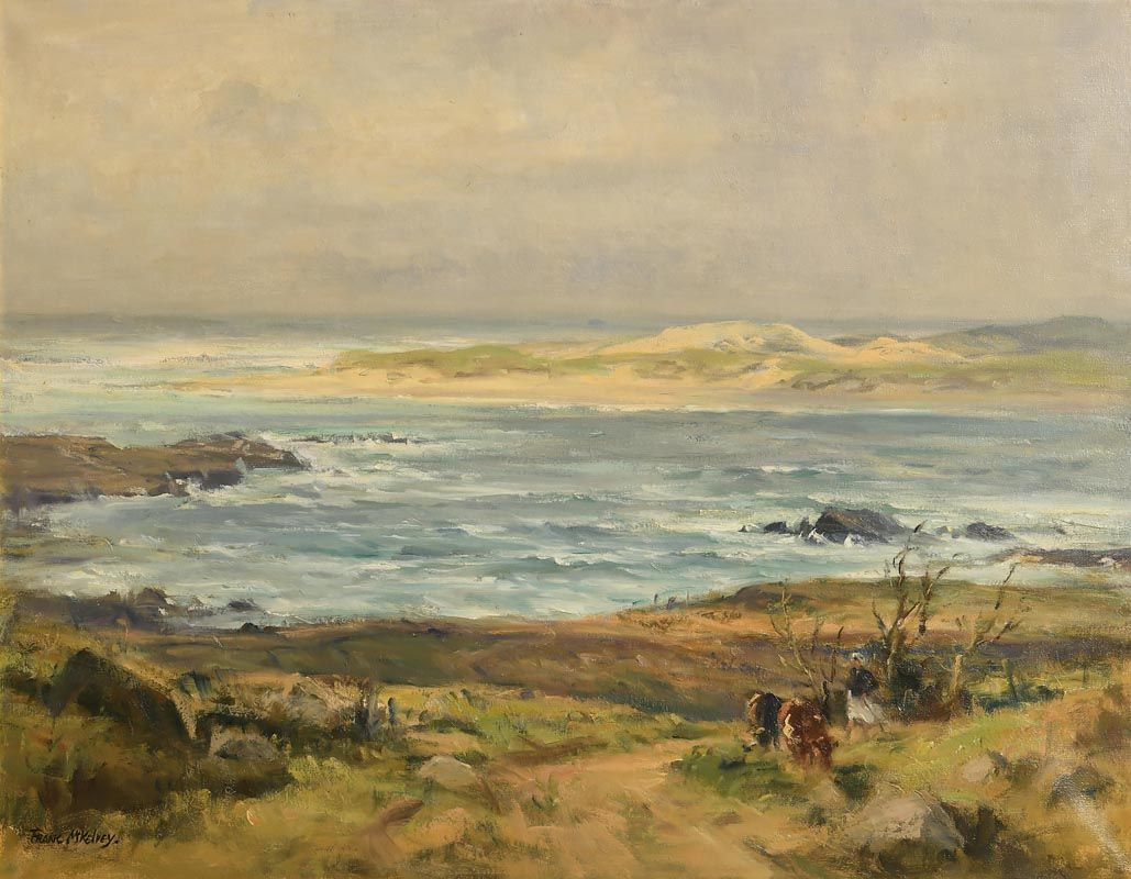 Frank McKelvey, The Foreland, Co. Donegal at Morgan O'Driscoll Art Auctions
