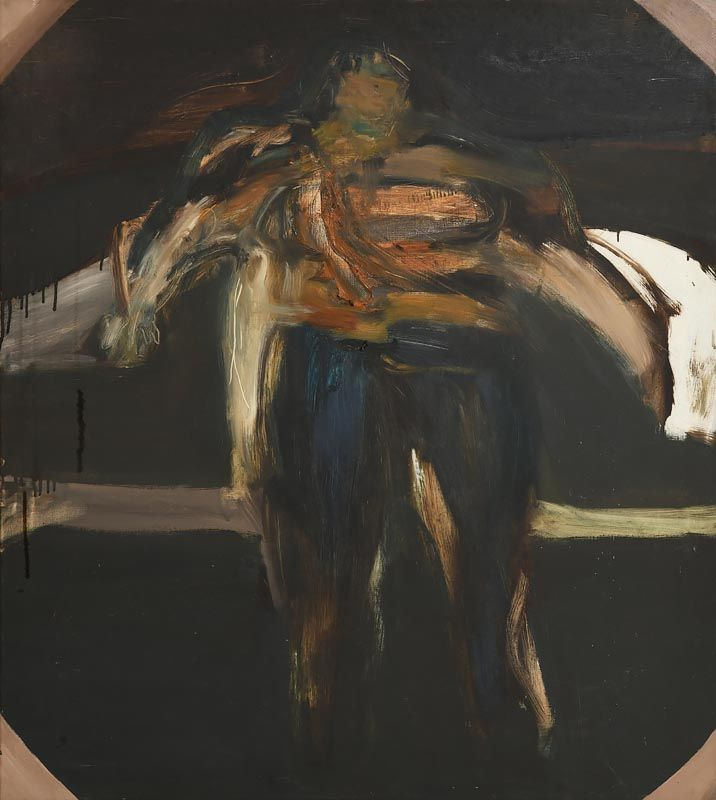 Barrie Cooke, A Woman (Ted!!) (c.1965) at Morgan O'Driscoll Art Auctions
