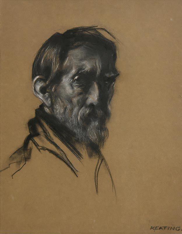 Sean Keating, Self Portrait at Morgan O'Driscoll Art Auctions