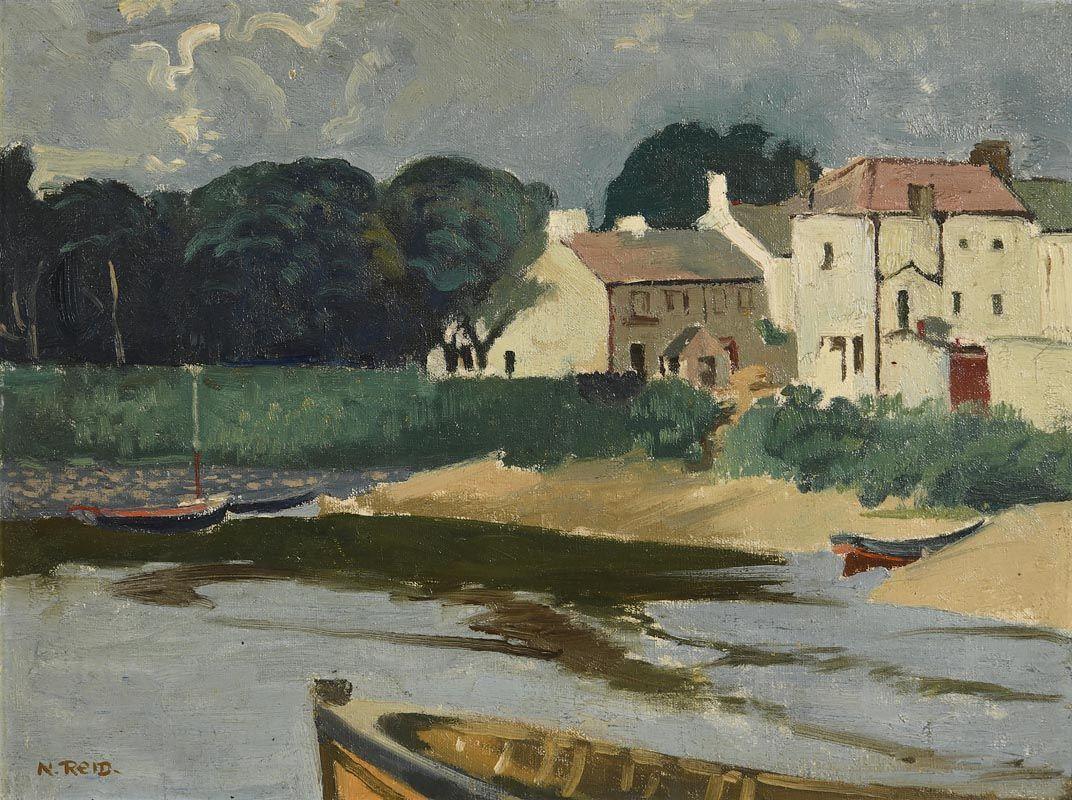 Nano Reid, Quiet Harbour at Morgan O'Driscoll Art Auctions