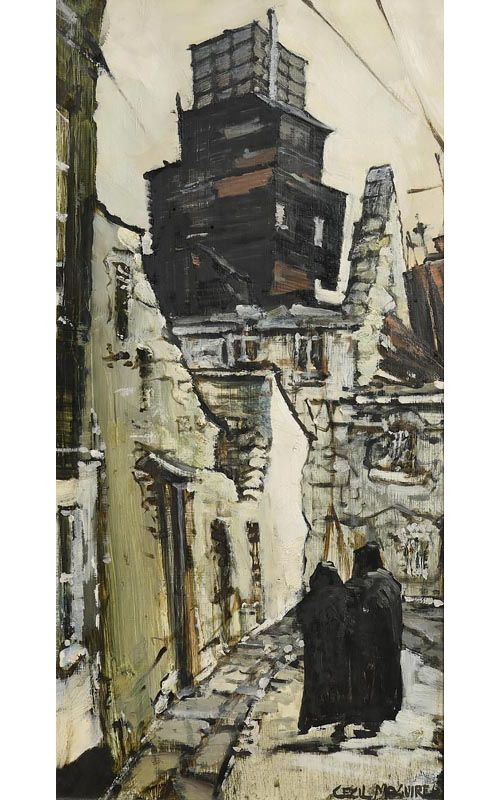 Cecil Maguire, Mill Building, Galway at Morgan O'Driscoll Art Auctions