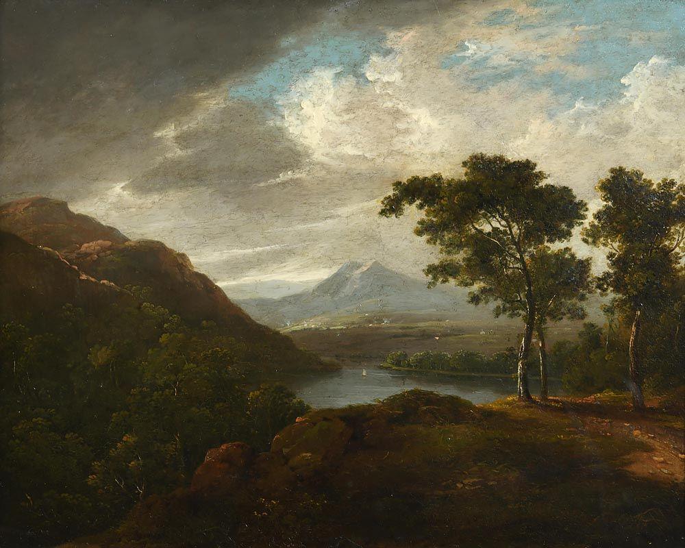 James Arthur O'Connor, Irish Landscape at Morgan O'Driscoll Art Auctions