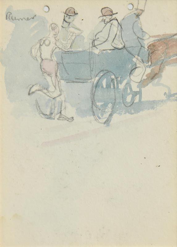 Jack Butler Yeats, Runner at Morgan O'Driscoll Art Auctions