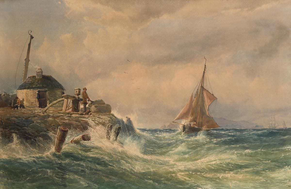 John Faulkner, Ballydevlin Bay and Cape Clear, Co. Cork at Morgan O'Driscoll Art Auctions