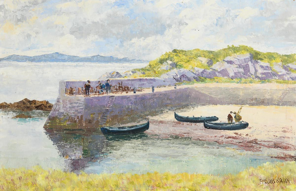 Fergus O'Ryan, Ardmore, Co. Galway at Morgan O'Driscoll Art Auctions