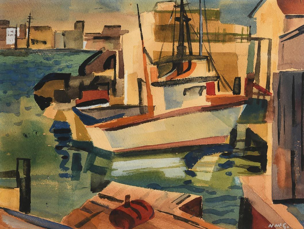 Norah Allison McGuinness, Youghal, Co. Cork at Morgan O'Driscoll Art Auctions