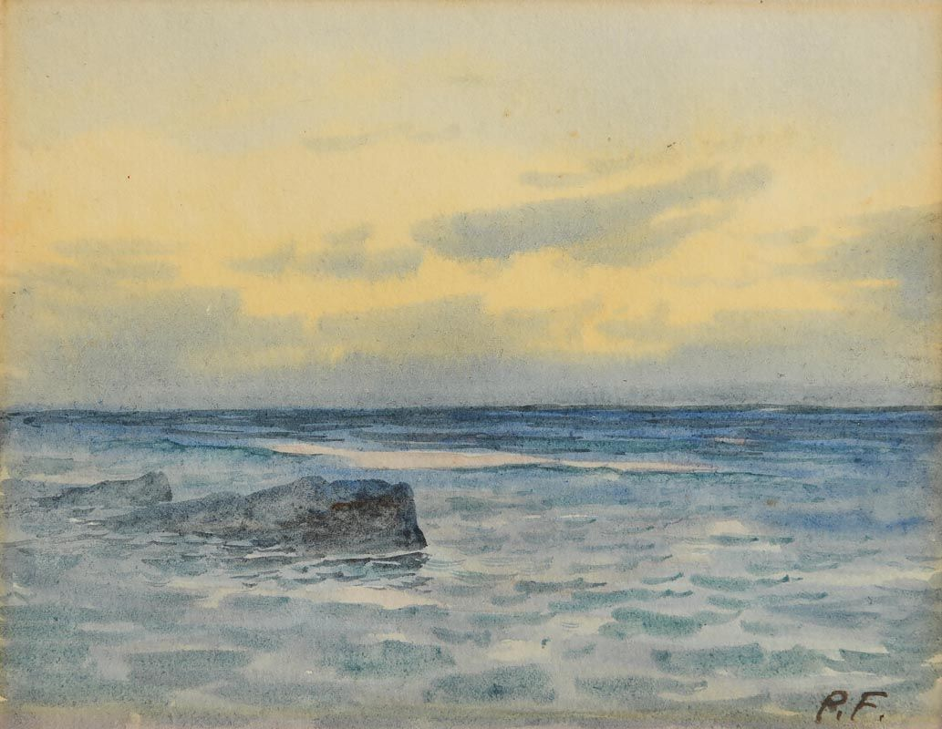 William Percy French, Evening Light at Morgan O'Driscoll Art Auctions