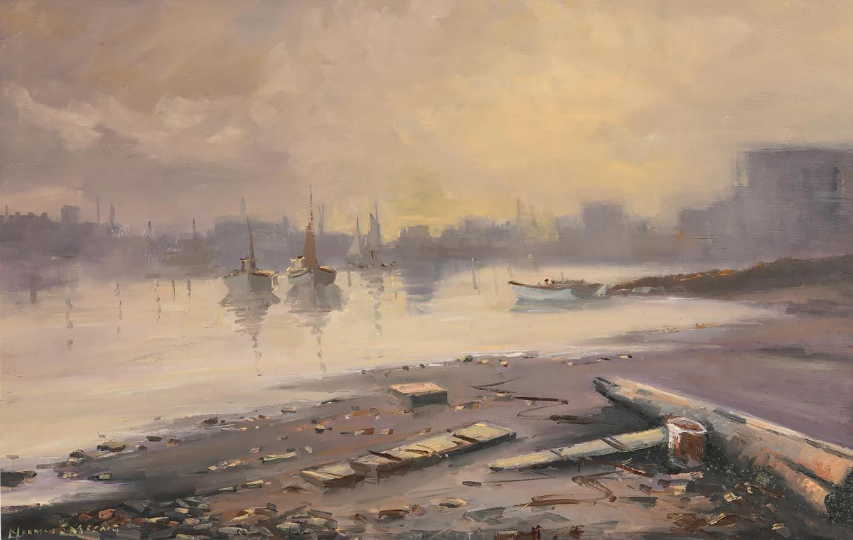 Norman J. McCaig, Dublin Bay at Morgan O'Driscoll Art Auctions